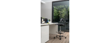 (Sit Up Chair) : Fauteuil ergonomique assis-debout